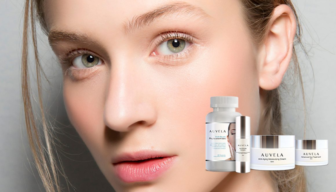 Auvela Skin Care Line offers a skin rejuvenation formula created using only the most recent cosmetic innovations